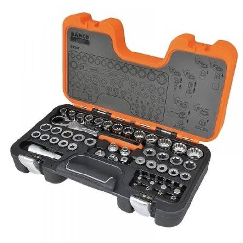 Assortment 53pz. Socket wrenches Bahco S530T