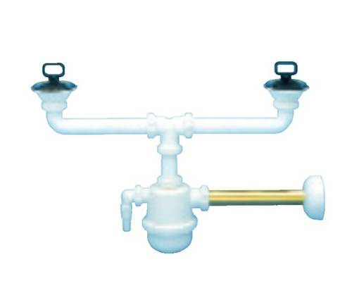 "Siphon With Brass with 1.1 / 4 ""Lavat Drain"