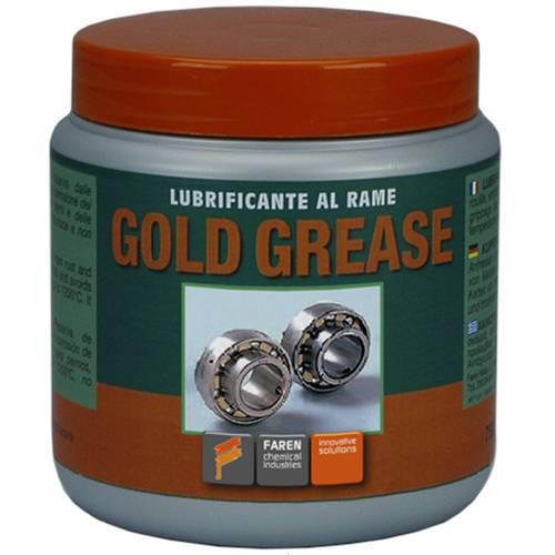 Lubrificante al Rame Gold Grease 750ml Faren