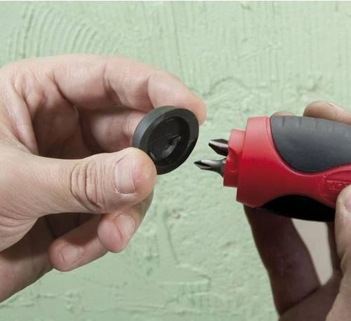 Screwdriver bit holder Ratchet PRTOUR7 / B Ribimex