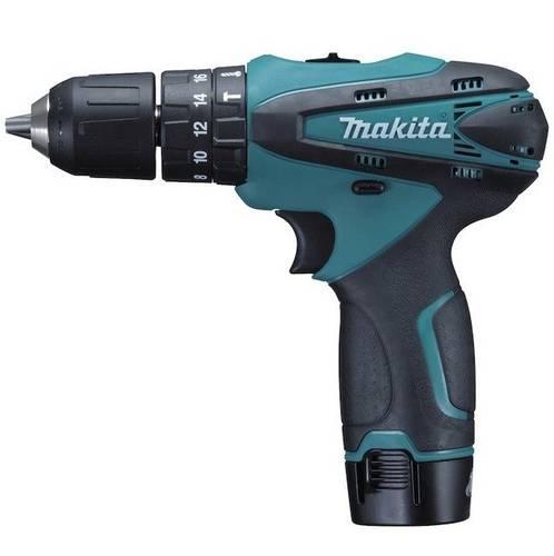 Drill Kit Makita screwdriver DK1485X3 + 3 Batteries Torch, and Valig.