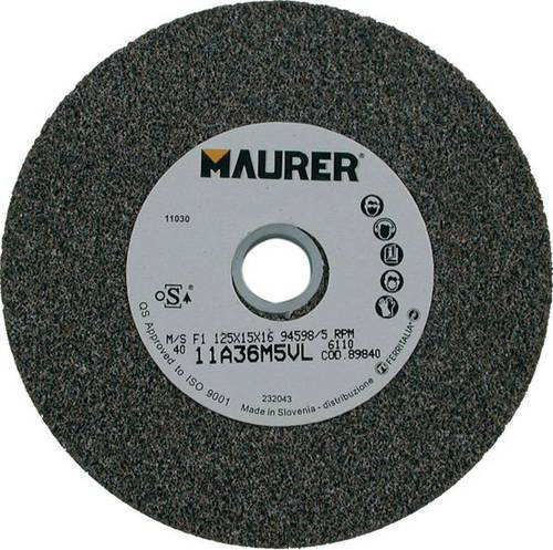 Mola Abrasiva a Disco 150x20x16mm Maurer