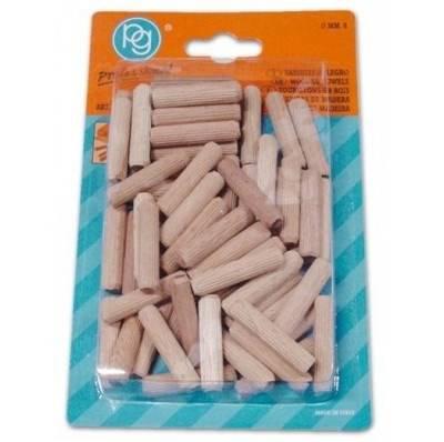 Conf. 100 Wooden dowels 6mm 655.00 PG Professional