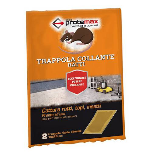 Traps Adhesive Tablets for Mice Rats 2 pcs 19x28 cm PROTE058 Protemax