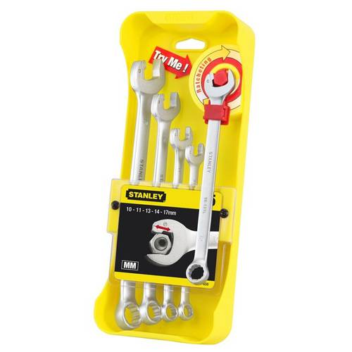 Set of 5 Combination Ratchet Wrenches 4-95-659 Stanley