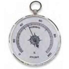 Hygrometer Aluminium mm.85
