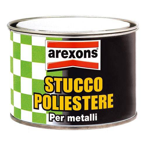 Polyester filler for Metals Arexons