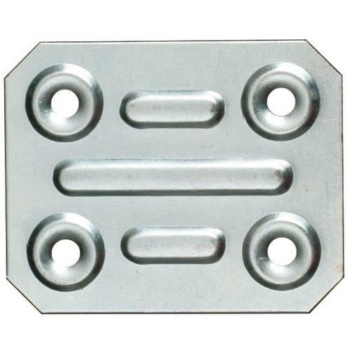 Rectangular plate 4x5cm art.74 Sipa