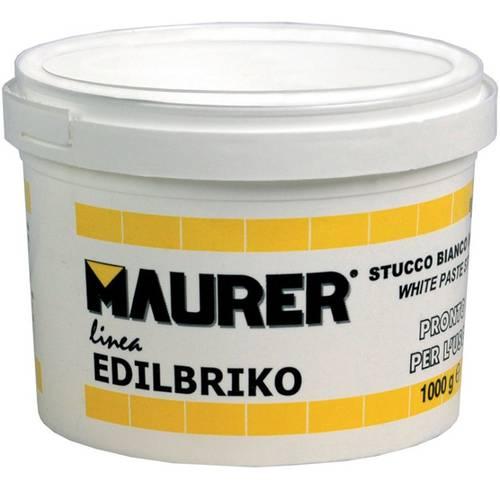 Stucco White Edilbrico for Wood and Wall Maurer 086272-3