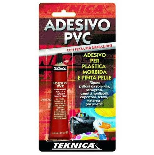 Adhesive PVC Pezza Repair 30ml Teknica