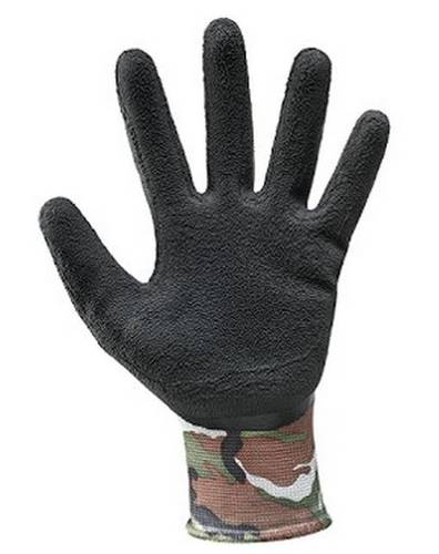 Camouflage Gloves 480 Polyester / Latex 355,133 Mac-Tuk