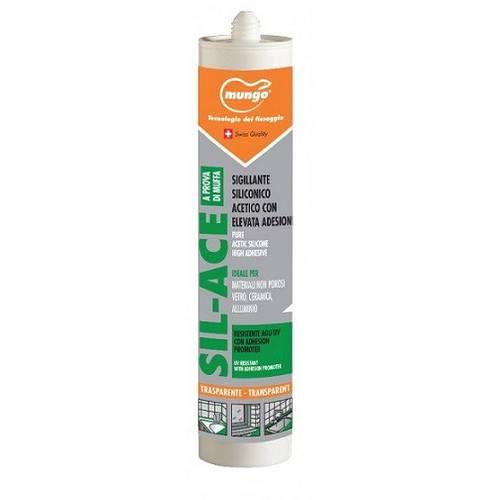 Silicone Transparent Acetic Sealant 280 ml SIL-ACE Mungo