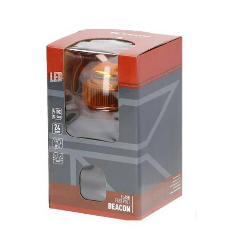 Kramp Flashing Beacon with DIN 24W 12 / 24V LA20020 Attack