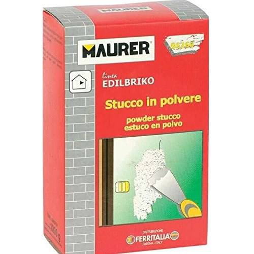 Stucco in Polvere 1Kg Edilbriko Maurer 86266