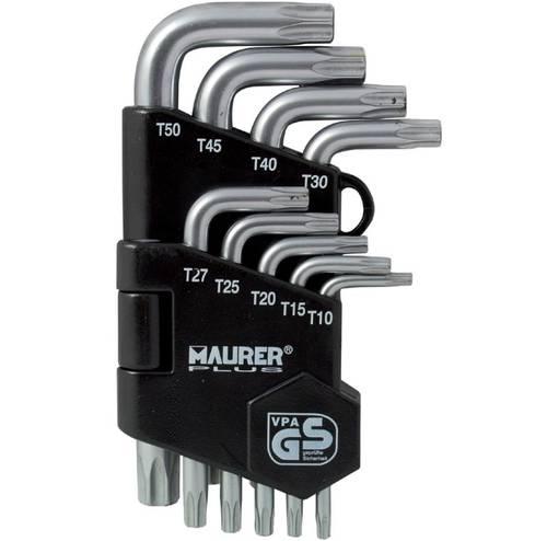September 9 Keys Bend Torx T10-T50 LTT9 086,173 Maurer