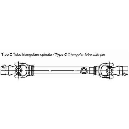 Cardan shaft Approved CE
