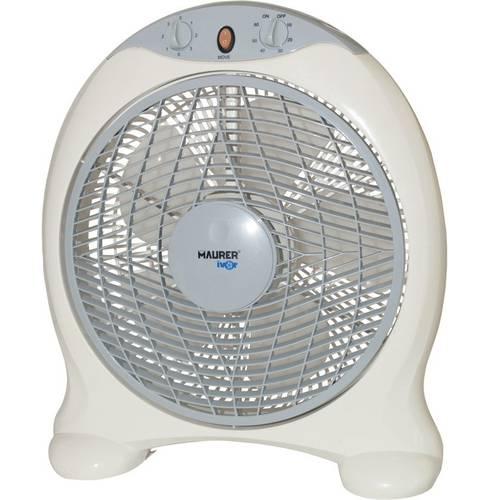 Ventilatore a Box con Timer 45W Maurer 095191