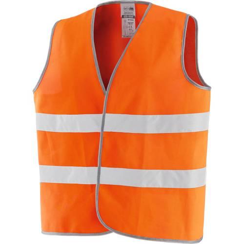 Vest High Visibility Orange New Way