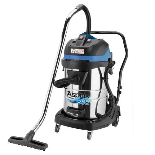 Vacuum Cleaner Solid and Liquid Aspirator ASPIRIX 3x1000W 80Lt PRASP81LX3 Ribimex