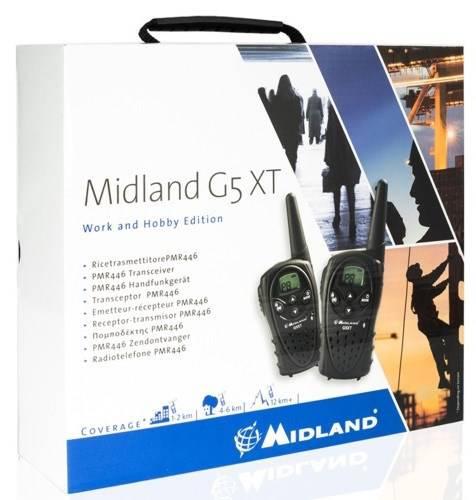Couple Radio Transceivers Midland G5XT Valibox