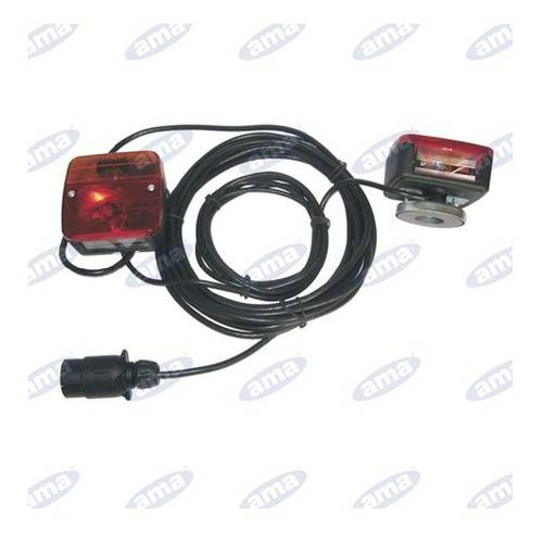 Magnetic Kit Rear Lights with Cable mt.7,5 / 2,5 mt 63750 Ama