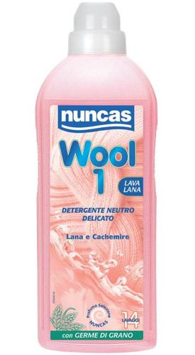 Delicate detergent for wool and cashmere WOOL 1 750 ml Nuncas