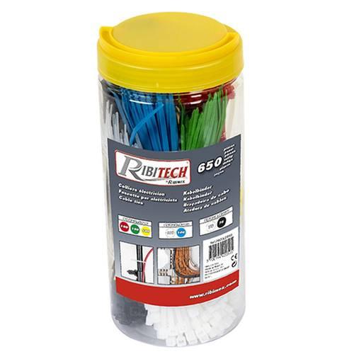 Package Set 650 Nylon Ties PRCOLE650 Ribimex