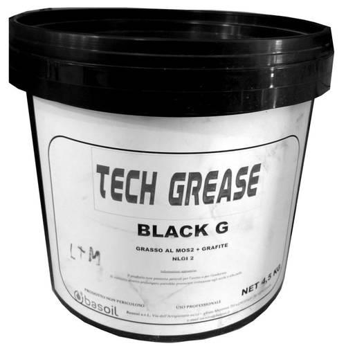 Grasso al MOS2 + Grafite Techgrease Black G Kg.5