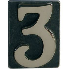 House Number / Letter Brass Bronzed