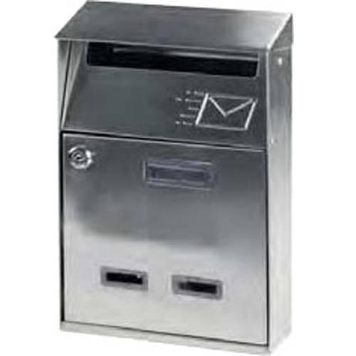 """Mailbox Inox """"Signal"""" Maurer 91559"""