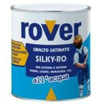 Silky Satin enamel to Water-Ro Rover White