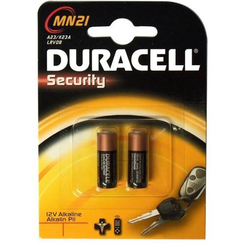 2 Pile Security A11 MN21 Duracell