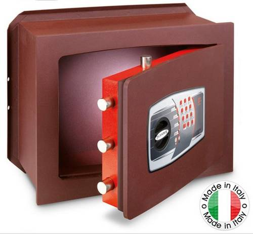 Cut resistant wall safe with Combination Digital UT/7P Technomax
