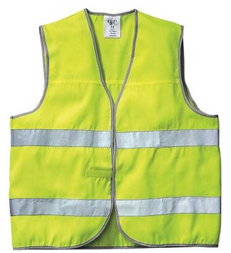 Vest High Visibility Yellow 422029 New Way