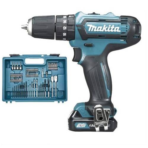 10.8V Percussion Drill Driver HP331DSAX1 with Makita Accessories