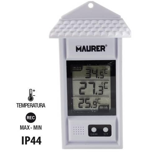 Internal and External Digital Wall Thermometer 98465 Maurer