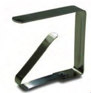 Tablecloth clips Inox 4cm Art. 384620