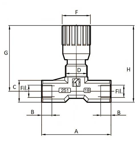 Bi-directional Flow Regulator 04187