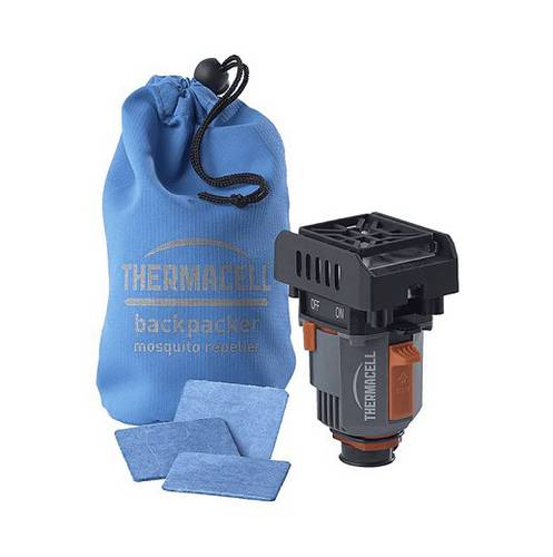 Scaccia Mosquitoes Mosquito repellent device for Camping Gas Cans BACKPACKER Thermacell