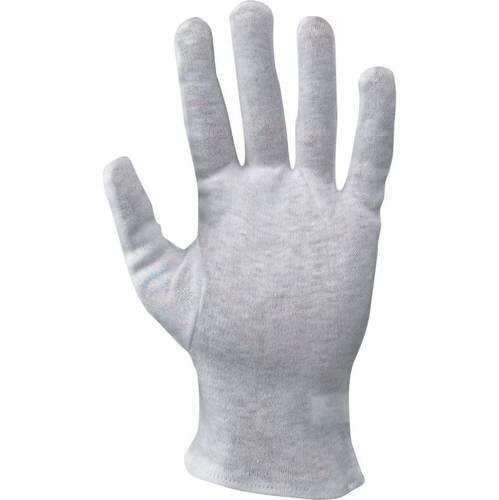 Gloves Light Cotton White Cotton 335021 Mac-Tuk