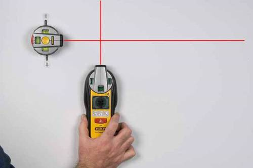 Plotter Laser Level and Metal Detector Pro Intellilaser Stanley 0-77-500