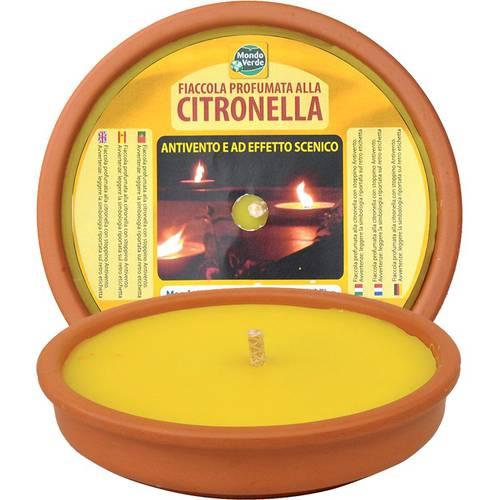 Fiaccola Maxy Citronella in Cotto cm.17