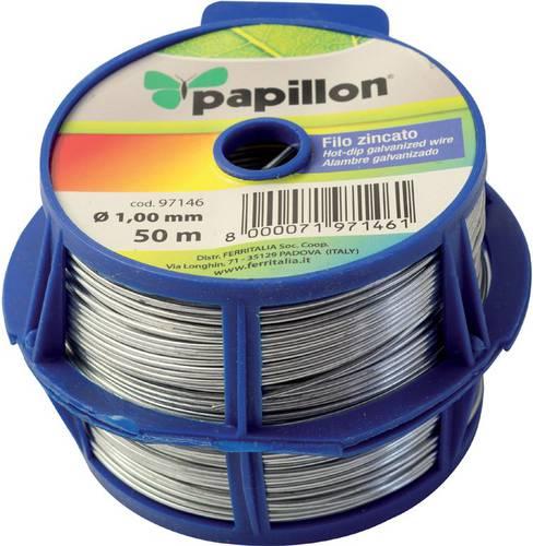 Galvanized wire mm.1 mt.50 Papillon 097,146