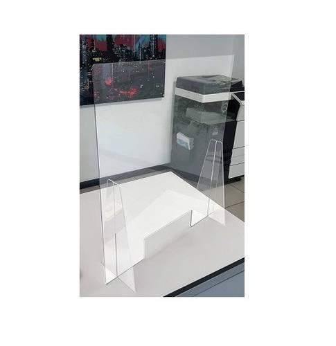 Protective Screen Transparent Divider Panel 67x75 cm 290505 Polimark