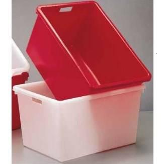 Corba Rectangular Red White container ICS