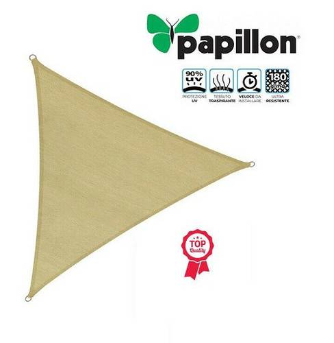 Triangular Shade Sail Cover for Garden 3,6x3,6x3,6 m 97868 Papillon