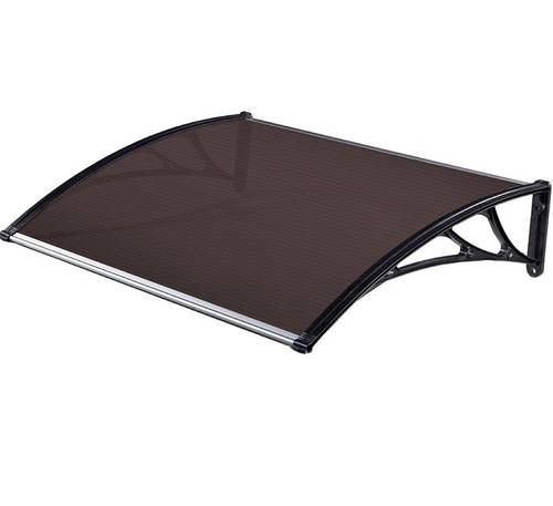 Modular polycarbonate shelter brown 150x100 cm 99597 Maurer