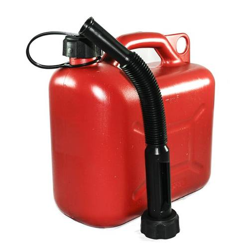 5 Liter Plastic Fuel Tank for Petrol with Spout