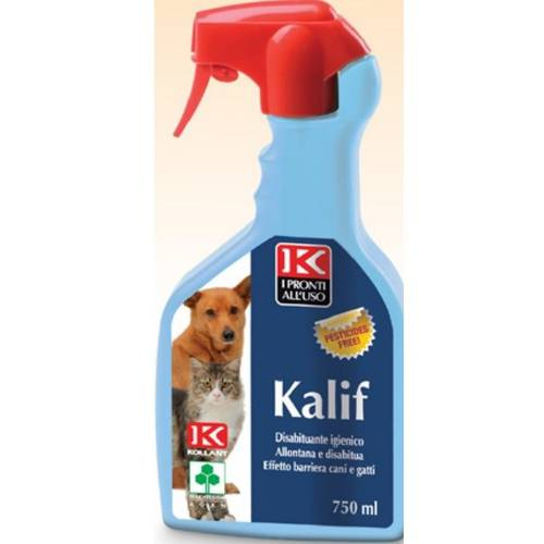 Kalif Disabituante Spray for Dogs and Cats 750 ml Kollant