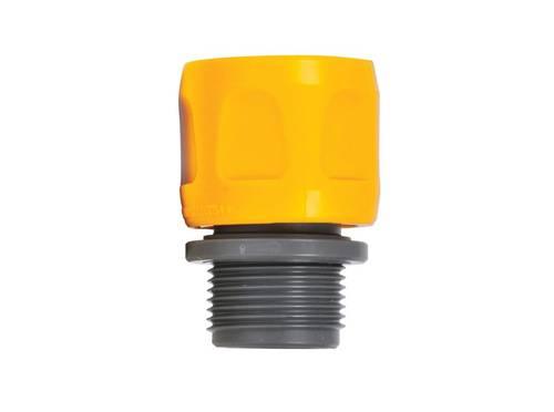 """3/4 """"BSP Adapter for Flat Garden Spiral Hose 2170 Hozelock"""